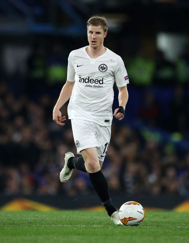 Martin Hinteregger is a key figure in the heart of the Eintracht Frankfurt defence