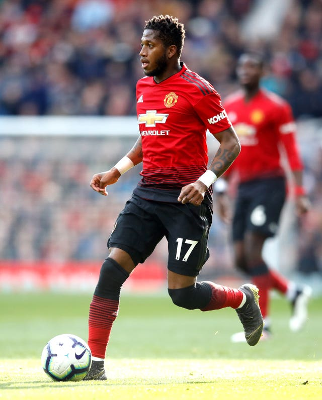 Manchester United are expecting more from midfielder Fred this season