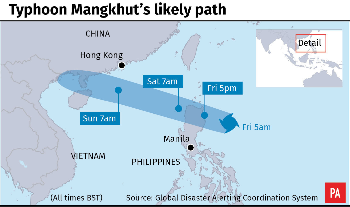 First bodies recovered from Philippines landslide in wake of Typhoon Mangkhut