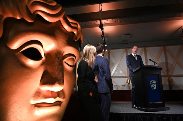 Royal visit to BAFTA Piccadilly – London
