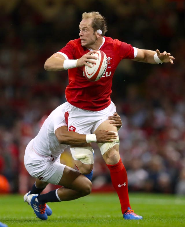 Alun Wyn Jones is set to feature in a fourth World Cup