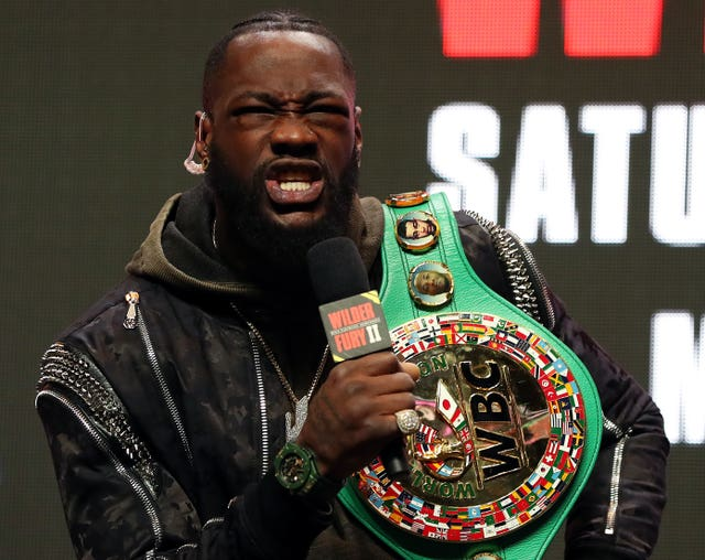 Deontay Wilder taunted Tyson Fury over his past mental health issues