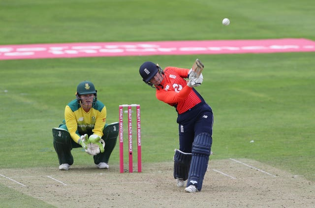 Tammy Beaumont hit a record-breaking century for England