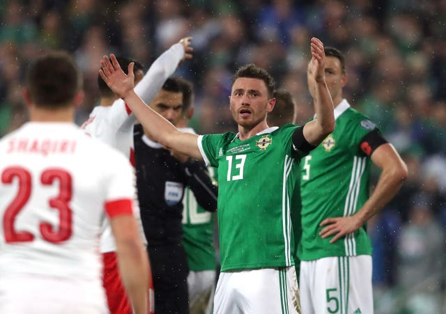 Northern Ireland v Switzerland – 2018 World Cup Qualifying – Play Off – First Leg – Windsor Park