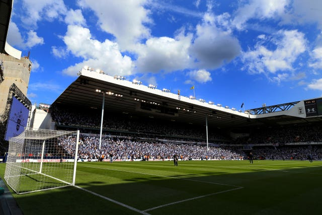 Tottenham Hotspur v Manchester United – Premier League – White Hart Lane