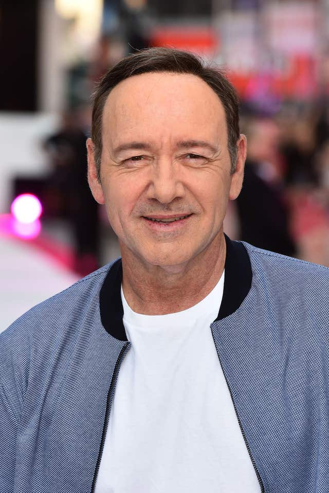 Kevin Spacey is being investigated over allegations of inappropriate activity (Matt Crossick/PA)