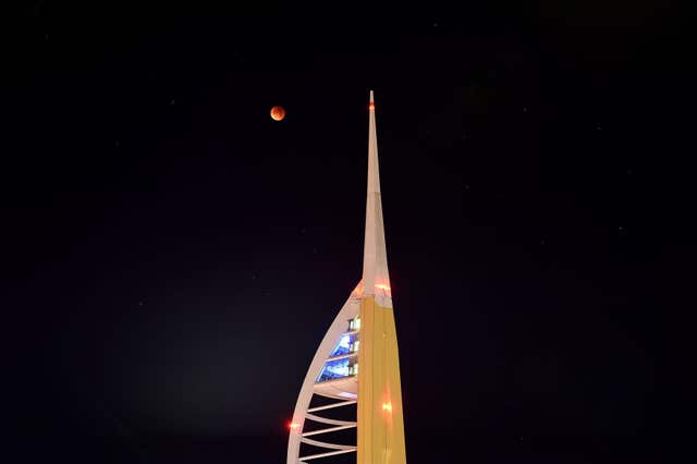 blood moon january 2019 ireland - photo #31
