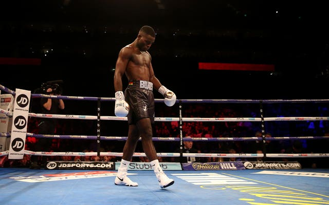 Joshua Buatsi won impressively in the first round on the undercard in London