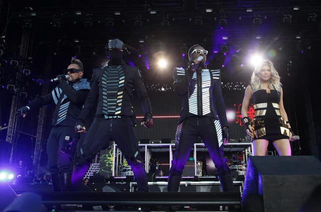 The Black Eyed Peas on stage