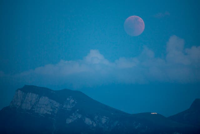 Switzerland Lunar Eclipse