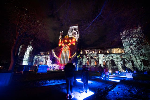 Lumiere Durham light festival 2019