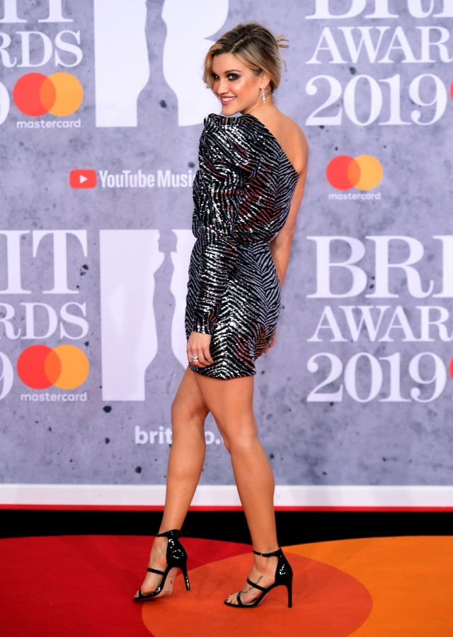 Ashley Roberts at the Brits