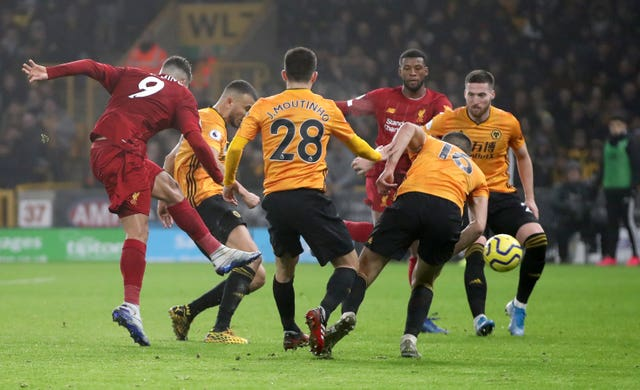 Firmino fires Liverpool to win at Wolves