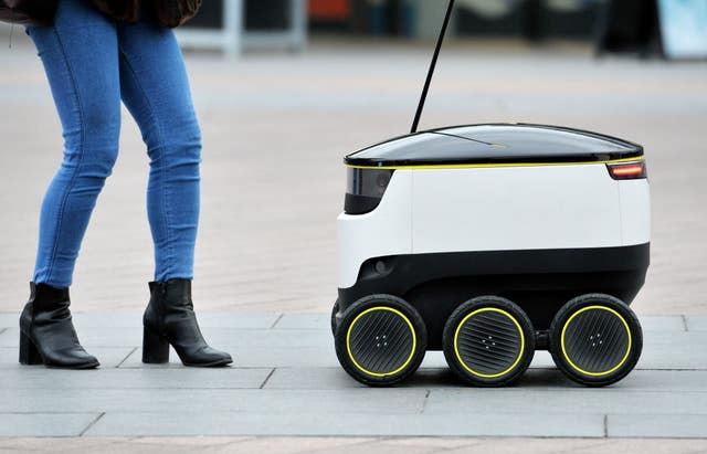 Starship Technologies self-driving delivery robot