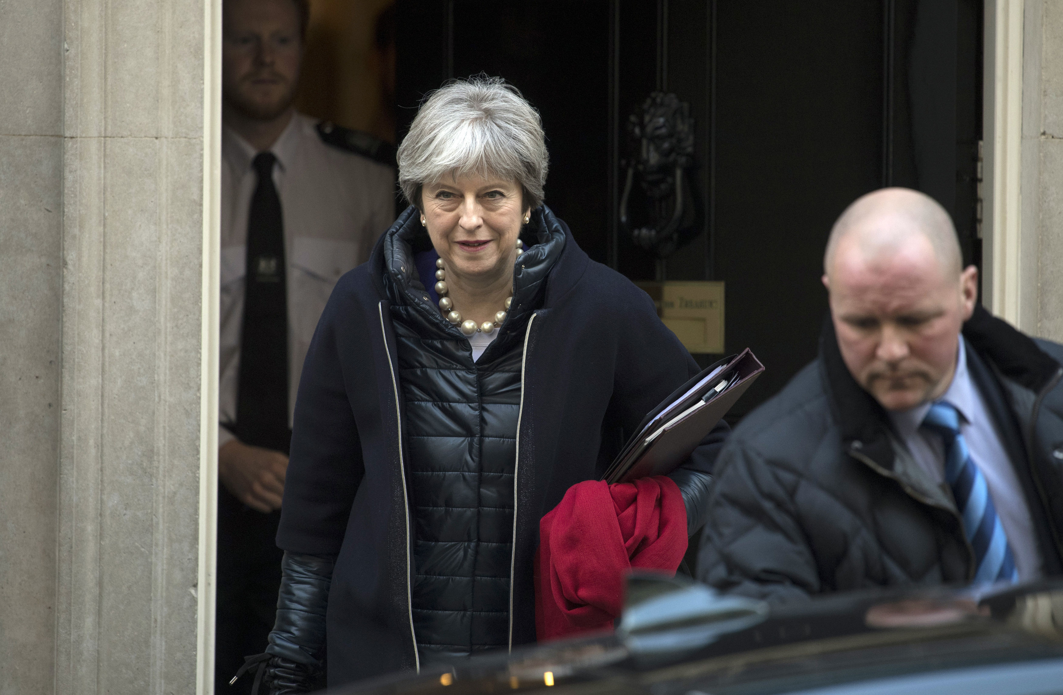 Theresa May announces review into British newspaper industry to safeguard free press