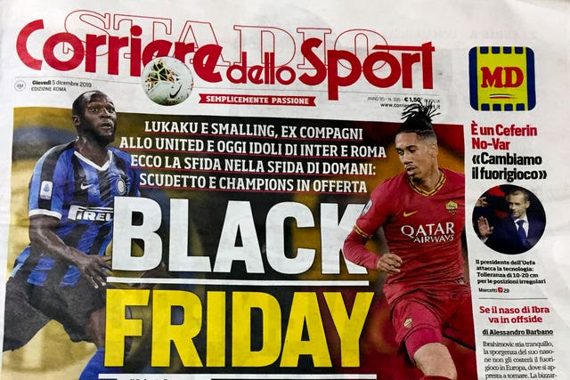 Italy Black Friday Controversy