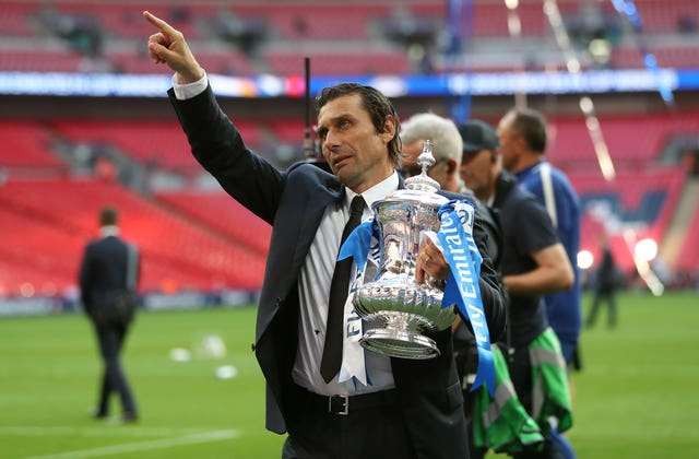 Antonio Conte defends himself and his position after winning FA Cup