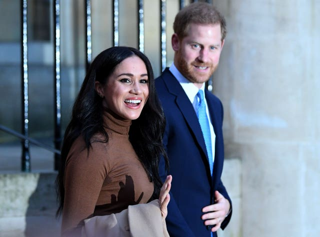 Harry and Meghan will have to tread the difficult path of earning money but not being exploited themselves. Daniel Leal-Olivas/PA Wire