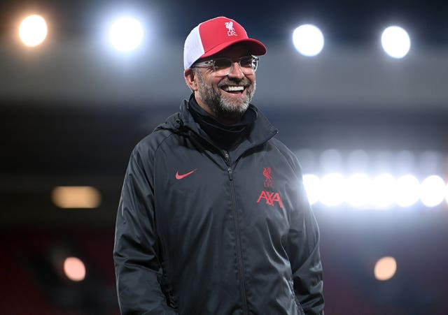 Liverpool manager Jurgen Klopp said he also gets nervous