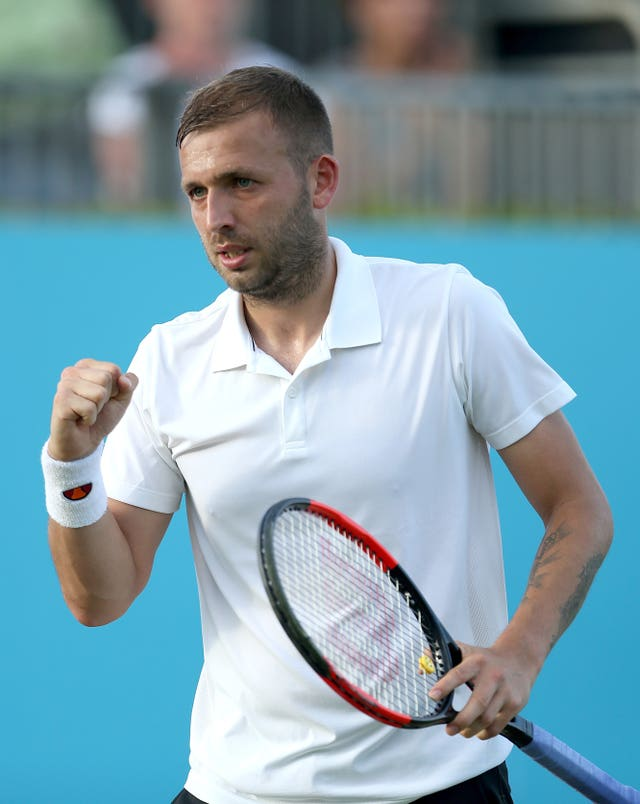 Dan Evans is looking for his first win at Roland Garros