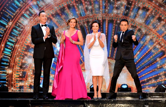 Strictly judges Craig Revel-Horwood, Darcey Bussell, Shirley Ballas and Bruno Tonioli