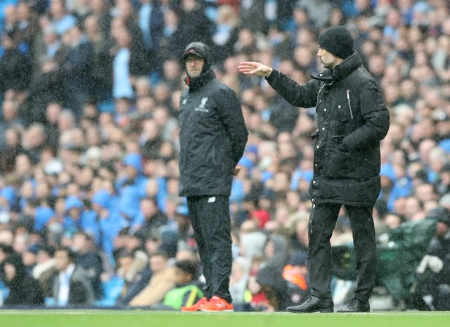 Pep Guardiola will send his side out to win when they take on Jurgen Klopp's Liverpool at Anfield