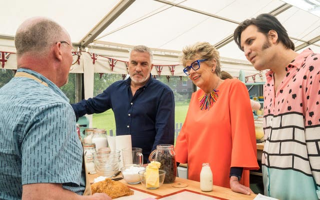 The Great British Bake Off judges