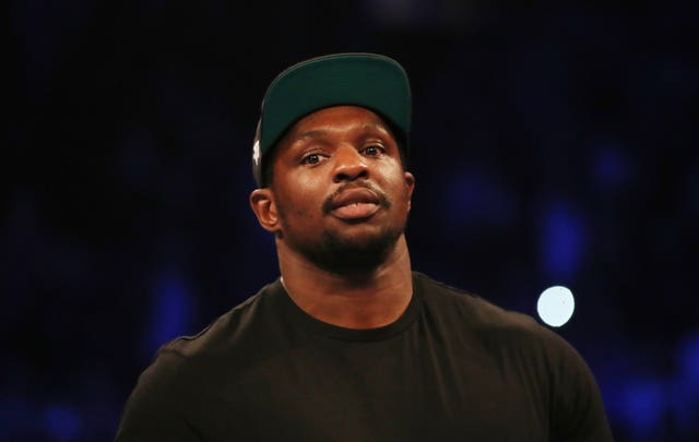 Dillian Whyte, pictured, was ringside to see Oleksandr Usyk defeat Tony Bellew (Nick Potts/PA)