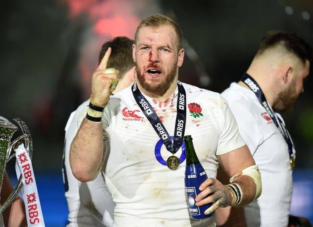 James Haskell won three Six Nations titles
