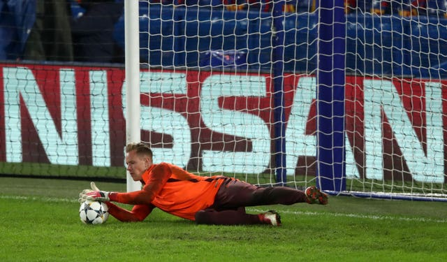 Ter Stegen wants his side to play on the front foot