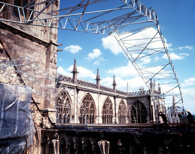 SOUTH TRANSEPT : YORK MINSTER 1984