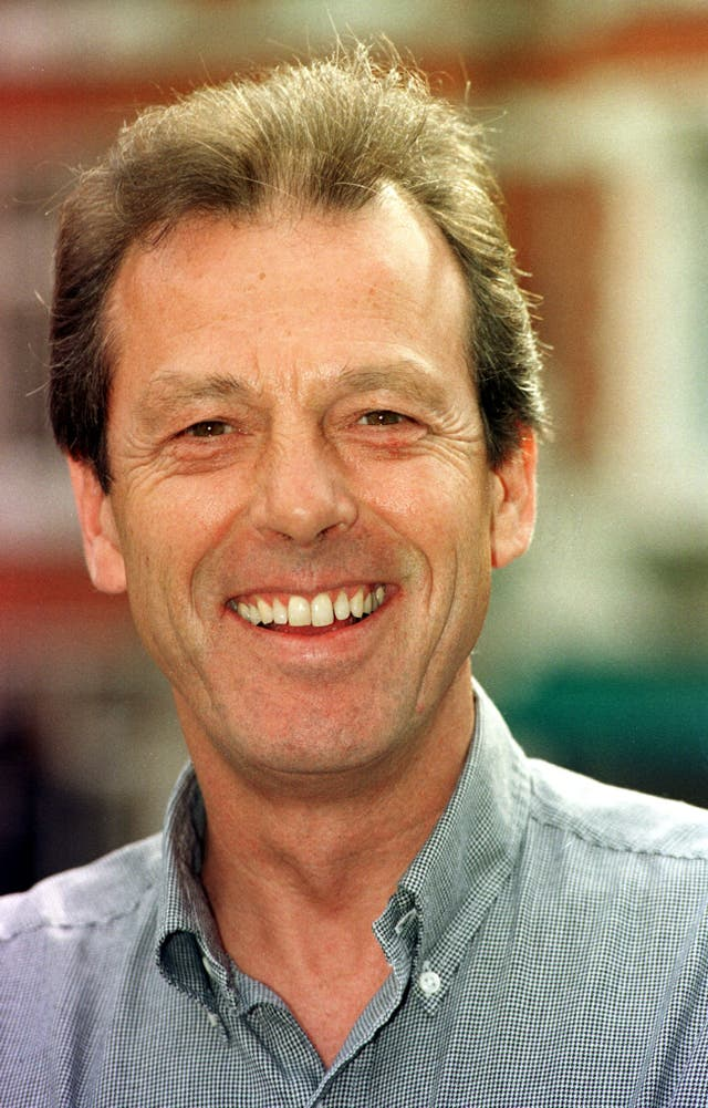 Leslie Grantham shot to fame while playing