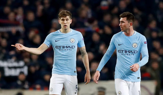 Defenders John Stones and Aymeric Laporte are both injured