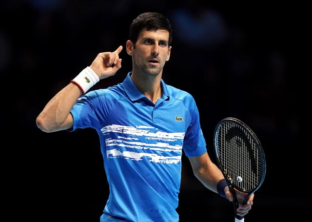 Djokovic expressed his wish that anyone infected with Covid-19 would recover