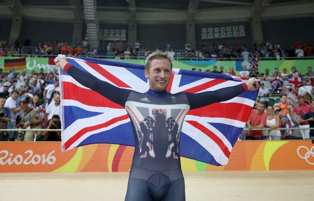 The skinsuits used by British skeleton athletes are similar to those worn by six-time Olympic champion cyclist Jason Kenny at the Rio 2016 Games