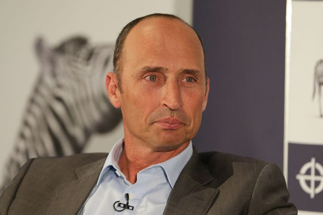 Nasser Hussain said purists may need to