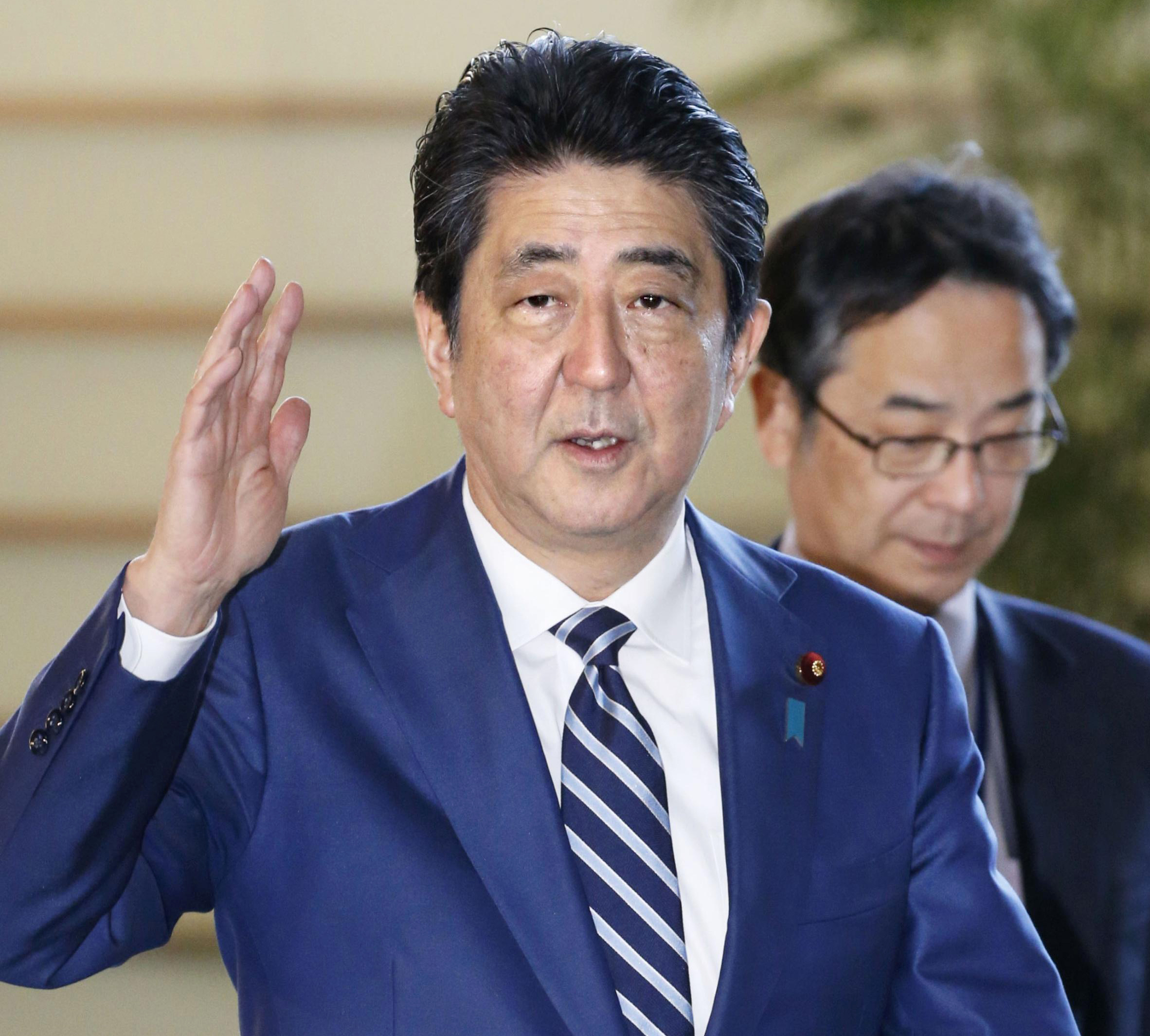 'References to Japan PM Abe and wife removed from documents'