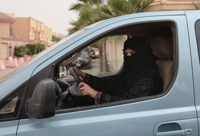 Saudi Arabia Women Driving