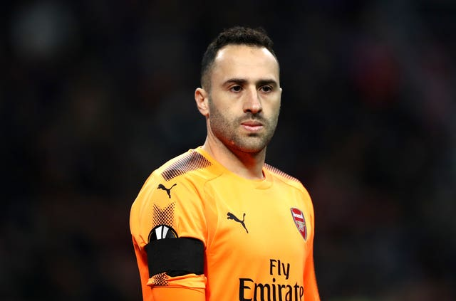 Ospina has started all-but two of Arsenal's Europa League games this season, including the 2-0 win at AC Milan