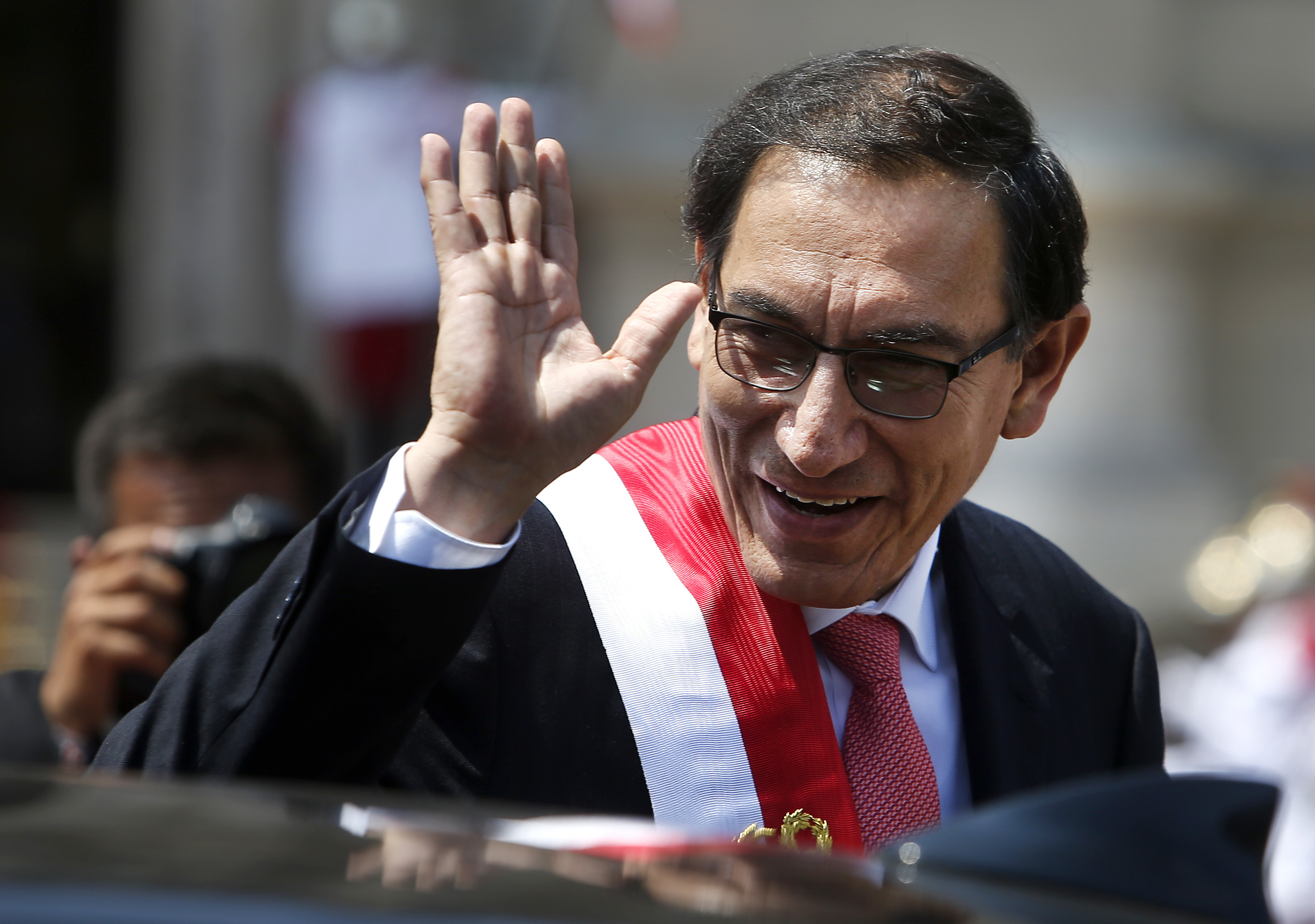 Martin Vizcarra is now Peru's new President
