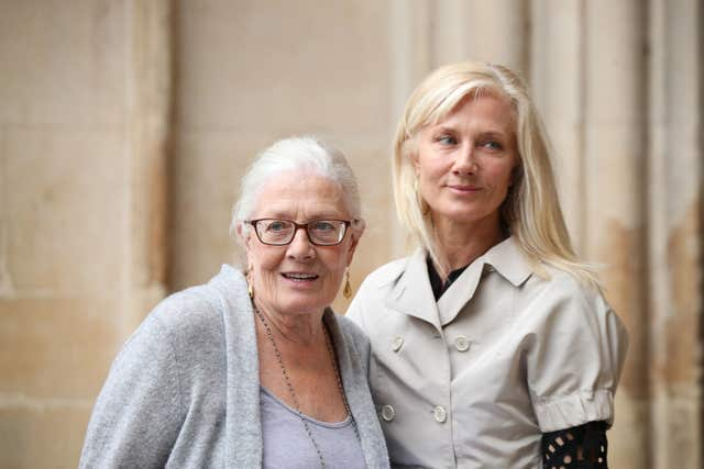 Vanessa Redgrave with her daughter Joely Richardson