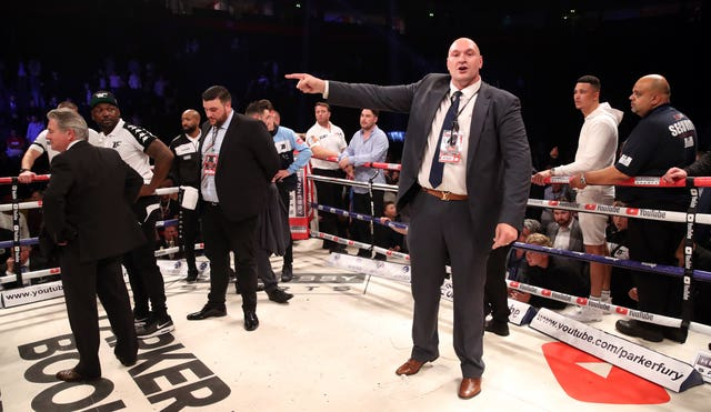 Tyson Fury became hugely overweight during his inactivity (Nick Potts/PA Images)
