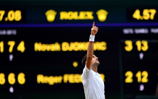 Novak Djokovic came out on top after four hours and 57 minutes