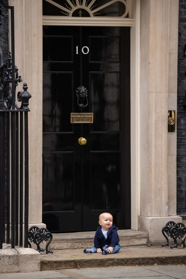 William Clements Downing St visit