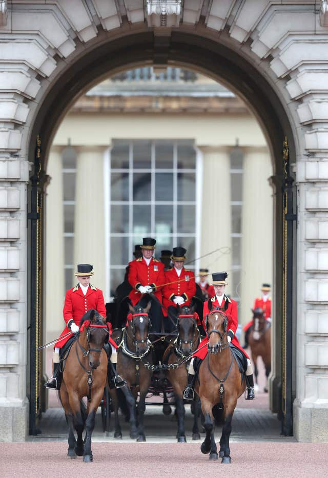 In Pictures: All in order for Trooping the Colour as