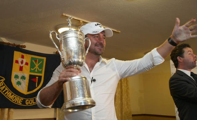 The 2010 US Open champion Graeme McDowel