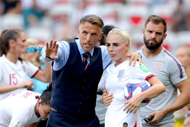 Neville guided England to the Women's World Cup semi-finals