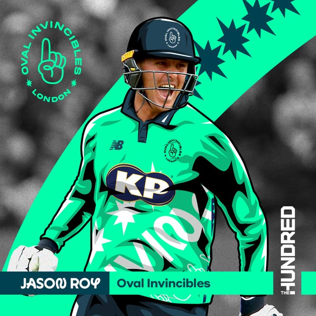 Jason Roy is an Oval Invincibles