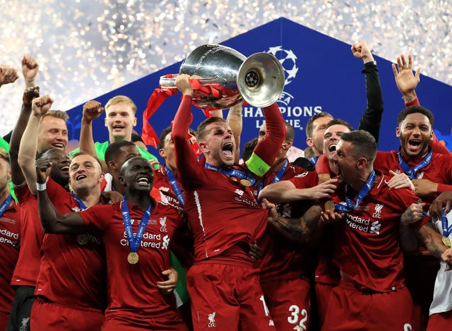 Liverpool were 2-0 winners over Tottenham in the Champions League final