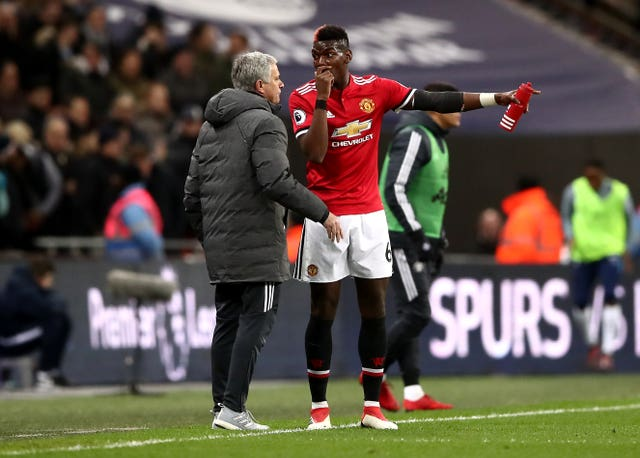 Jose Mourinho and Paul Pogba have been the subject of scrutiny